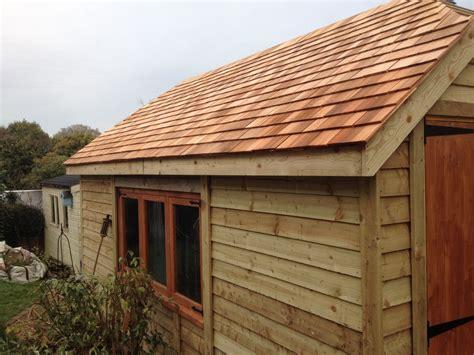 timber garages  wooden workshop oakford devon