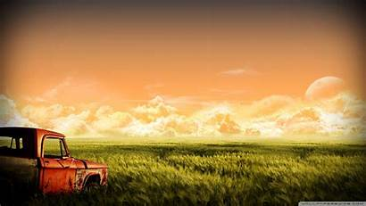 Cars Abandoned Wallpapers Desktop Rusty Background 4k