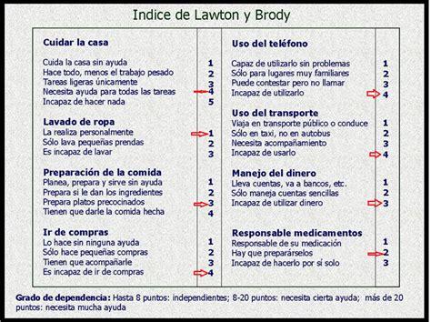 Lawton y Brody   Enfermeria del Envejecimiento y Cuidados ...