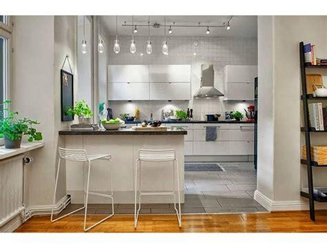 modelos de cocinas americanas en espacios pequenos