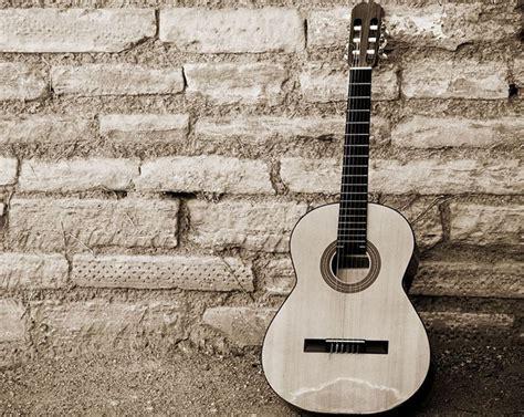 black  white guitar hd wallpaper  hd wallpaper