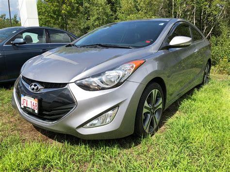 Used Hyundai Elantra Coupe by Used 2013 Hyundai Elantra Coupe Se In Miramichi Used