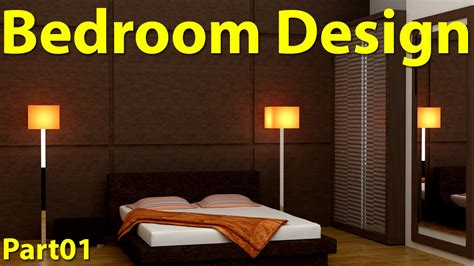 3d Bedroom Design Software Free by Bedroom Design In 3d Max Part 01