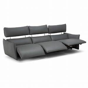 Parma 3 seater electric recliner sofa for Sectional sofas electric recliners