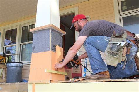 craftsman porch columns professional deck builder