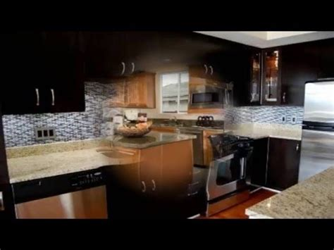 kitchen backsplash ideas  dark cabinets youtube