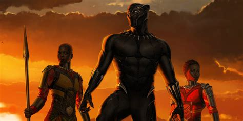 Check Out The Black Panther Poster Screen Rant