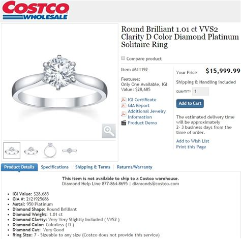 costco engagement rings review    cheaper