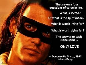 Don Juan DeMarco 1994 | Archetypes, Johnny depp ...
