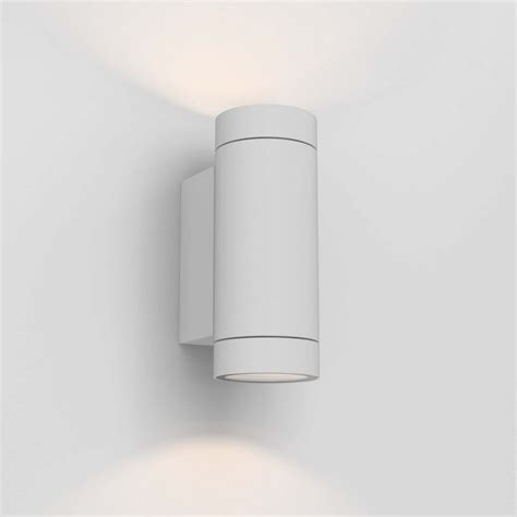 1372012 dartmouth twin outdoor wall light textured white