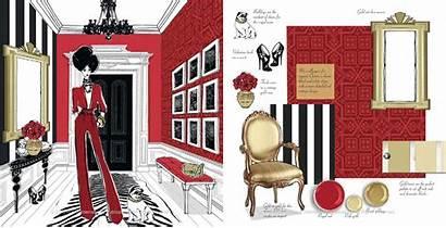 Interiors Illustrated Megan Hess Interior Illustration Icons