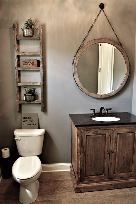 Bathroom Vanities Rustic Wood