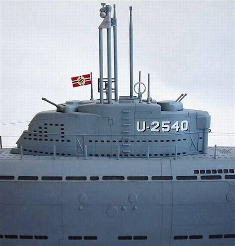 Ship Models - German Ships - U-2540 - Stefan Draminski