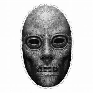 Free Printable Animal Masks Templates Death Eater Mask From Harry Potter Free Printable