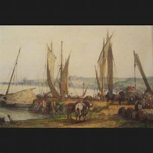 Paris Normandie Flers : camille flers d chargement des bateaux en normandie aquarelle et gouache galerie cerca trova ~ Gottalentnigeria.com Avis de Voitures