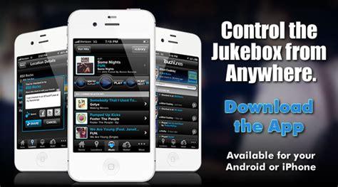 the 1 jukebox mobile app