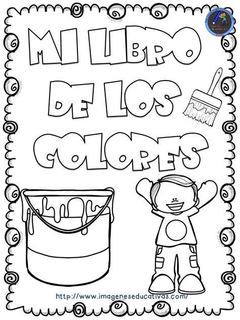 Mi libro de los colores para colorear anglès Libro de