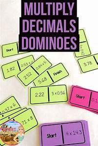 Multiply Decimals Dominoes | Education - math | Math ...