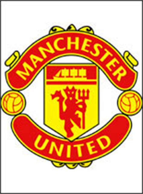 logo manchester united football club coloriage