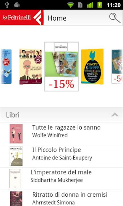Mobile Gratis Per Android by La Feltrinelli Mobile Per Android