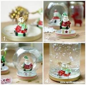 Fabriquer Boule à Neige Glycérine : tuto fabriquer une jolie boule neige avec apolline ~ Zukunftsfamilie.com Idées de Décoration