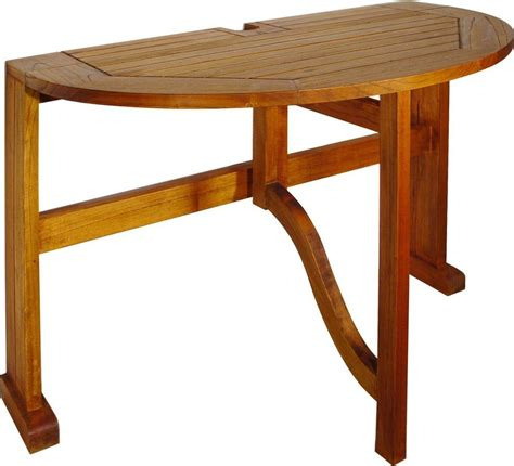 Half Circle Patio Table by Terrace Mates Caleo Half Folding Patio Table Patio