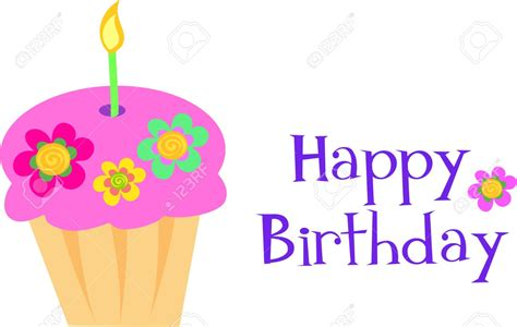 Happy Birthday Clipart Happy Birthday Flowers Clip 101 Clip