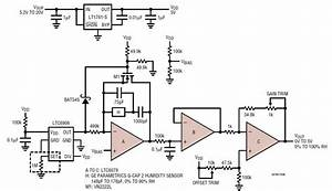 relative humidity sensor circuit collection analog devices With humidity control switch circuit