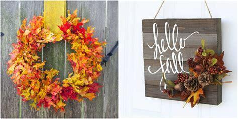 Easy DIY Fall Wreaths   Best Homemade Wreaths for Fall