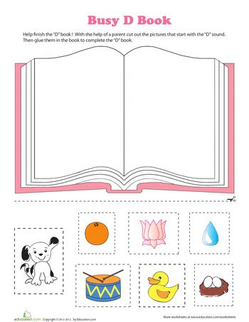book preschool phonics busy book learning letters