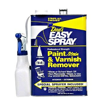 buy  dads easy spray  easy spray paint varnish remover gallon hardware world