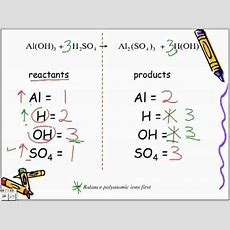 Balancing Chemical Equations Lecture Youtube