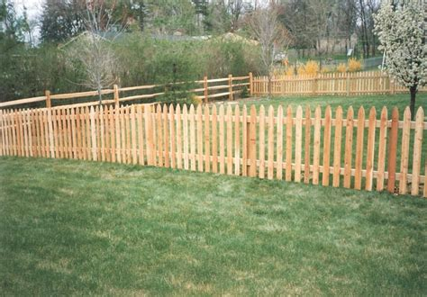 wood picket fence designs outdoor waco charm picket
