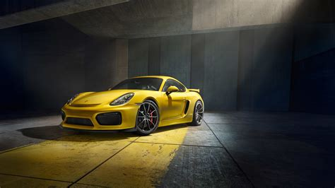 Porsche Cayman Gt4 2015 Wallpapers
