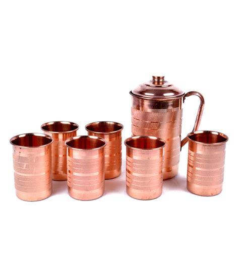 copper factory pure copper jug kala   glass set ayurvedic healing buy