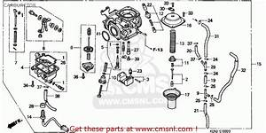 Honda Cmx250c Rebel 1996  T  Canada Carburetor