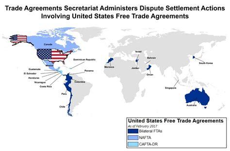 industry analysis trade agreements secretariat
