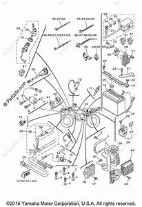 Yamaha Atv 2012 Oem Parts Diagram For Electrical