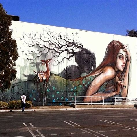 herakut new murals los angeles usa streetartnews streetartnews