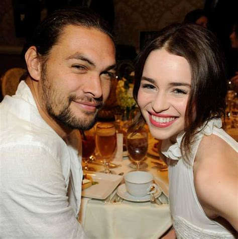 Looks like emilia clarke does indeed have a new man! Who Has Jason Momoa Dated?   His Dating History with Photos