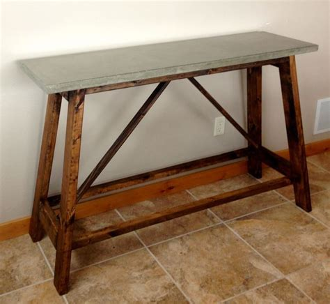 how to make a concrete table 89 best cool concrete crafts for our new house images on
