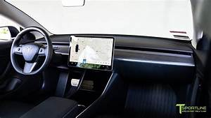 How to Install a Tesla Model 3 Carbon Fiber Dash Panel on an Open Pore Wood Dashboard - YouTube