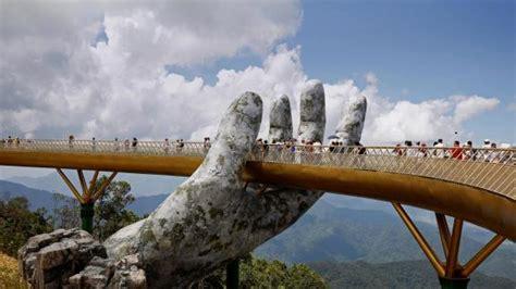 Bing Wallpaper Sep 29 2018 Vietnams New Bridge Deserves A Big Hand Bing Wallpaper Gallery