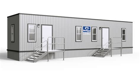 Office Space Trailer by Temporary Office Buildings Glittered Barn Llc