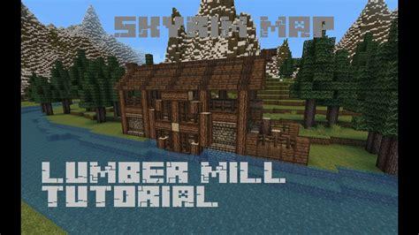 skyrim map lumber mill tutorial youtube