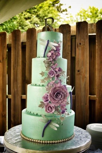 mint wedding lavender cake cakes jim thanks another did shot