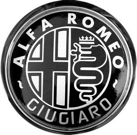Alfa Romeo Badge by Custom Black Giugiaro Alfa Romeo Badge Repair Kit Ebay