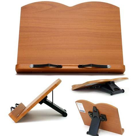 book stand portable wooden reading recipe cookbook desk