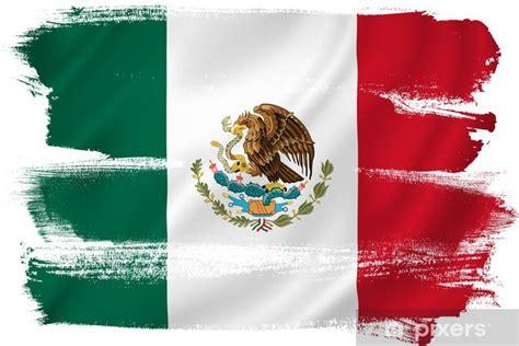 Fotomural Bandera de México • Pixers® - Vivimos para cambiar