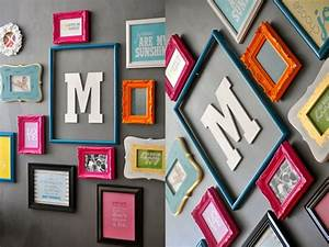 1000 images about wall lettersquotmquot on pinterest With frame with letter inside